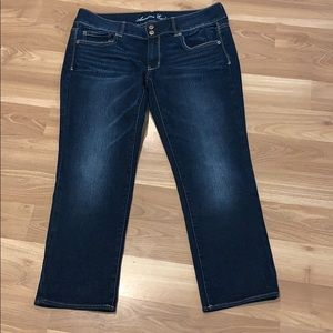 AE American Eagle cropped/capris size 12 NWOT